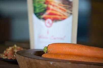 Carote glassate con alveus® Captain Carrot
