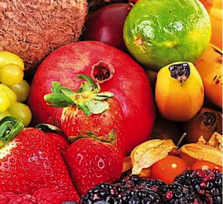 Miscele di frutti ed erbe